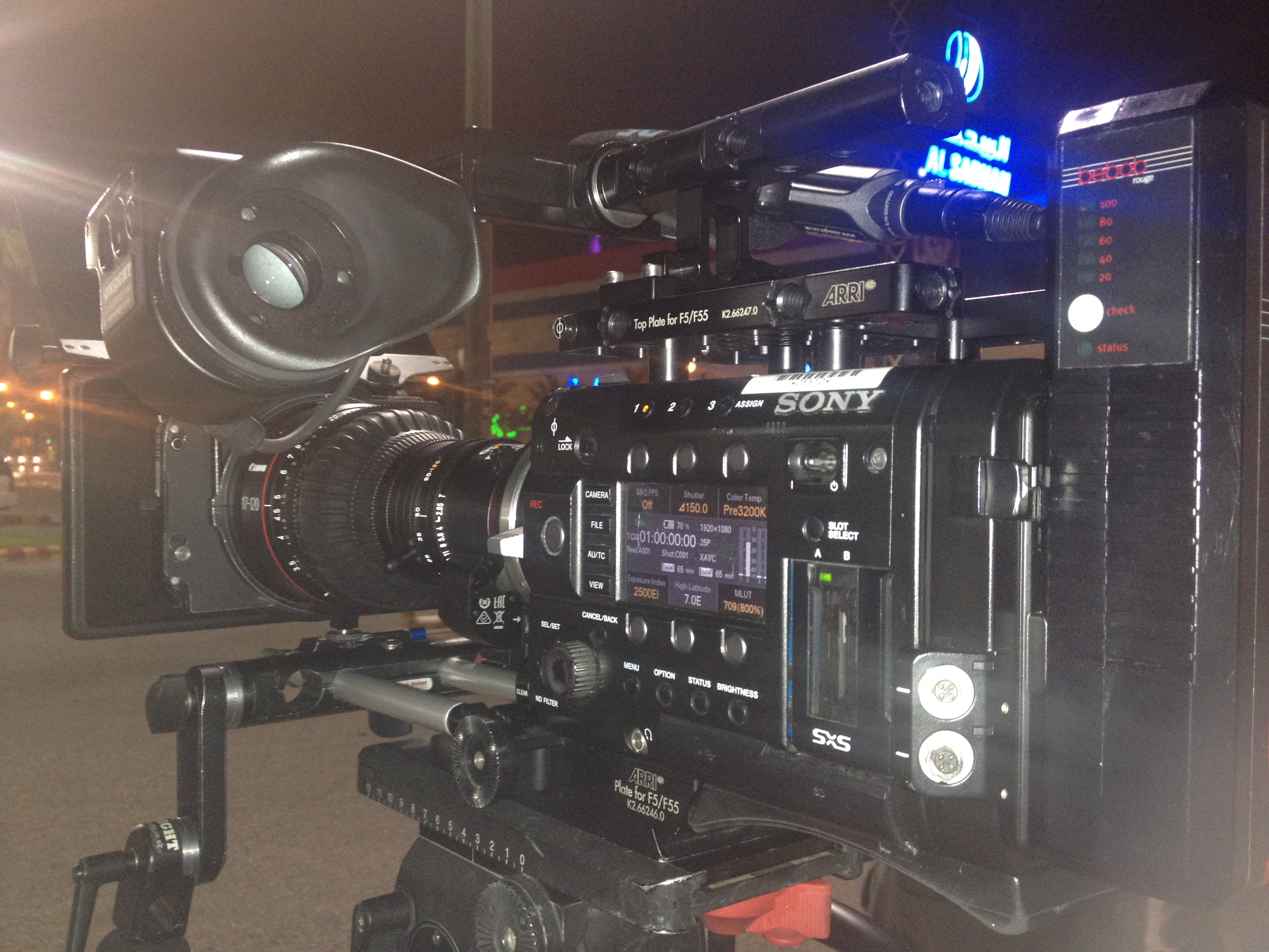 Sony F55 downtown Riyadh