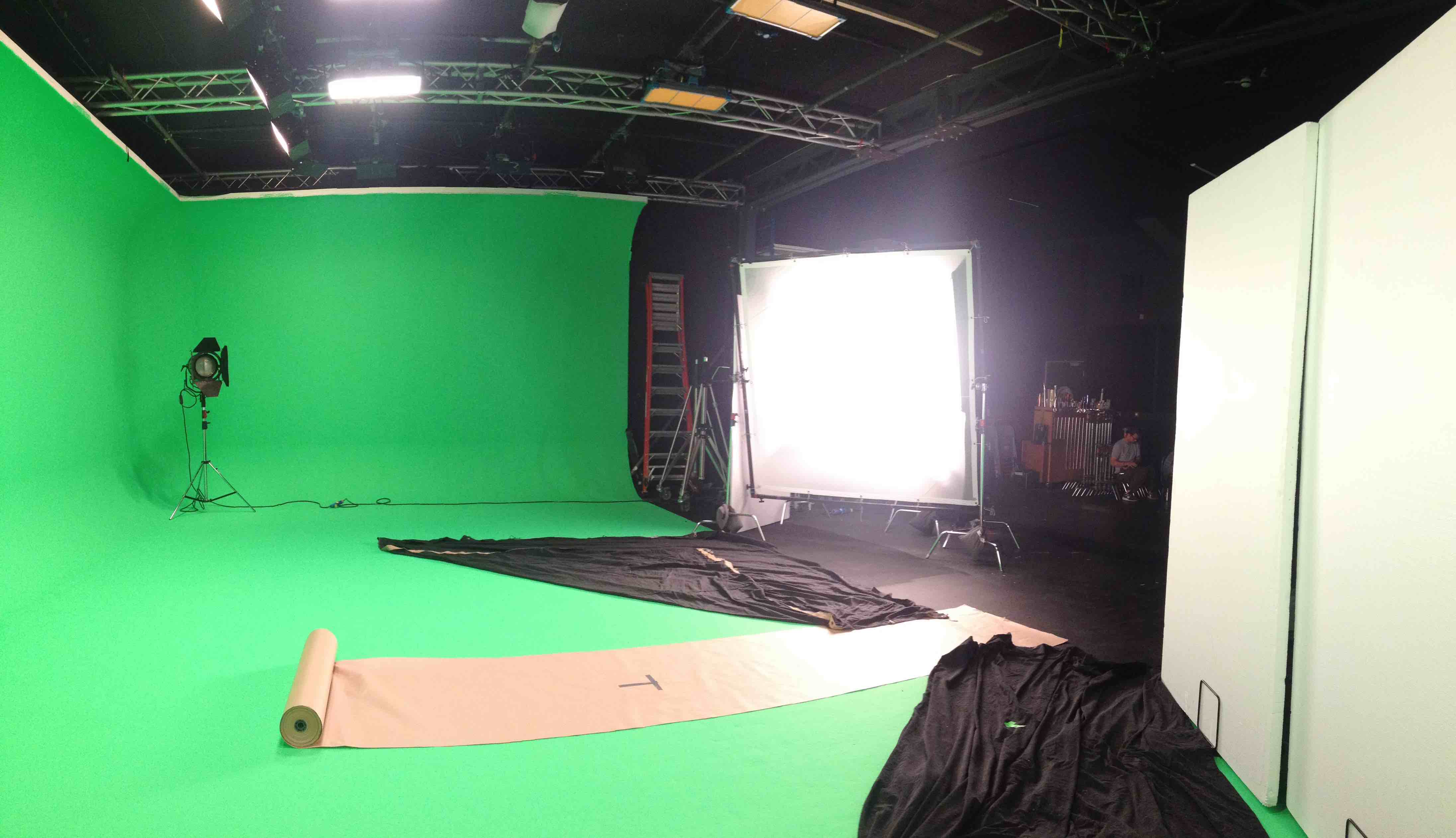 greenscreen studio setup