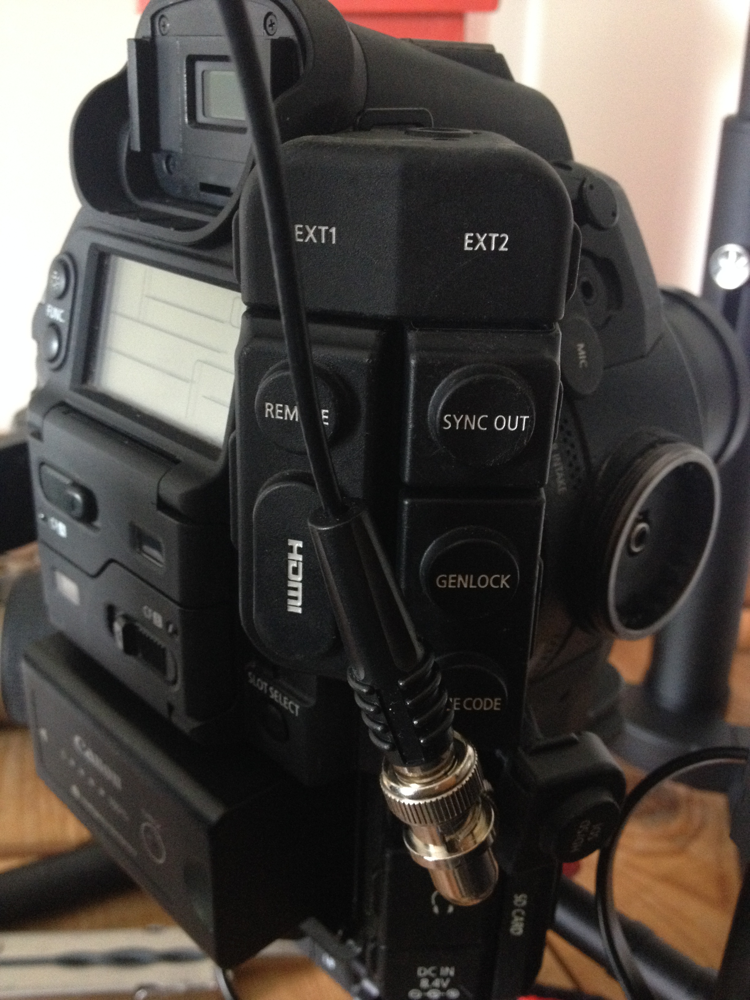 thin bnc with C300 and Ronin