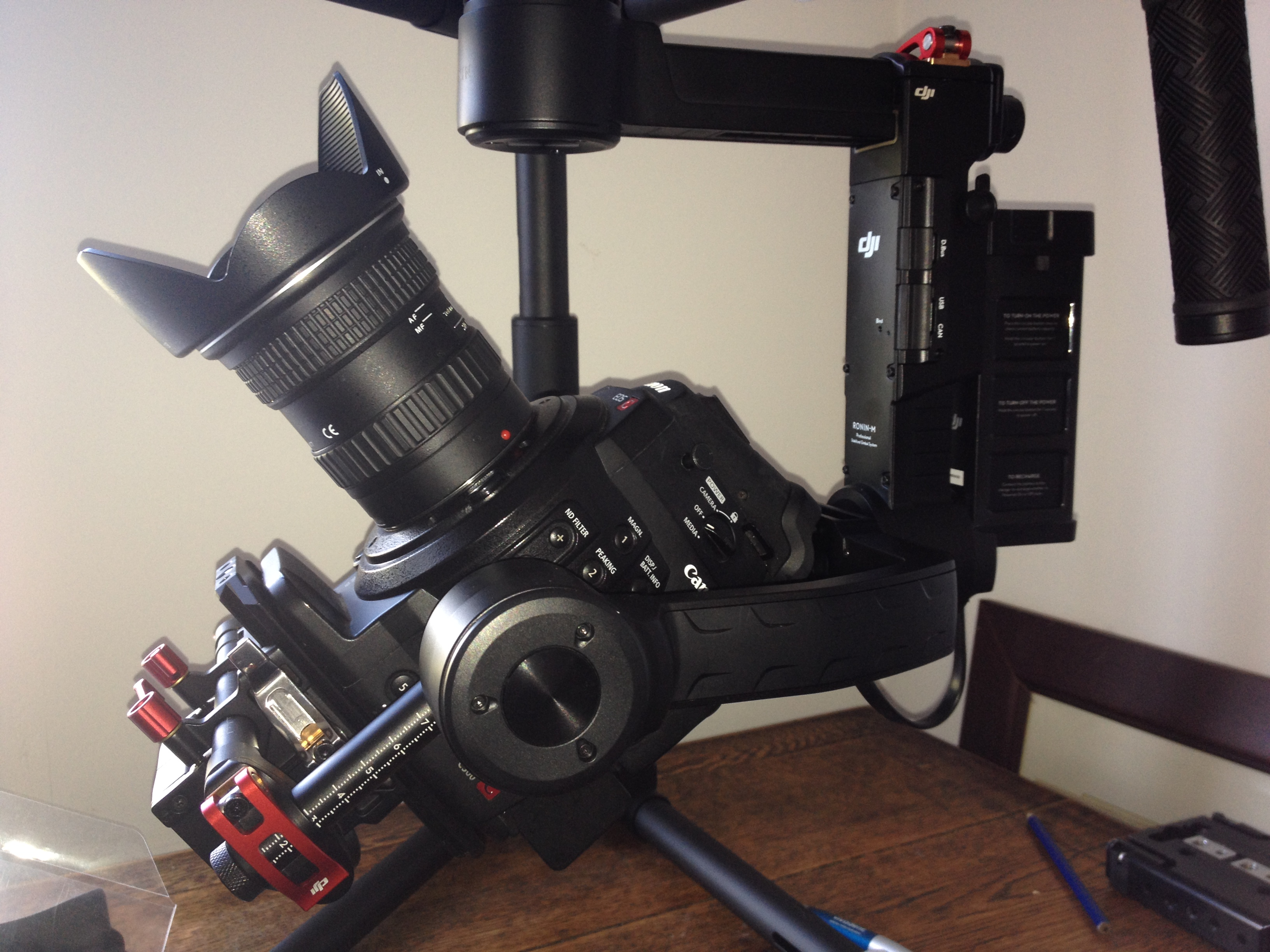 ronin m with C300 11-16mm