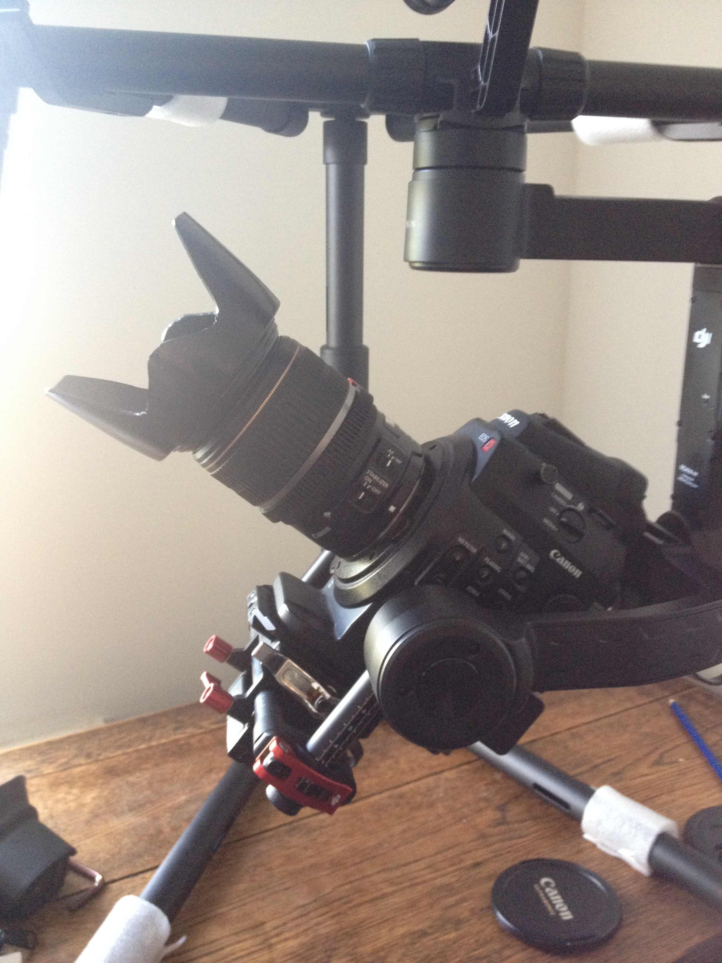 ronin m with canon c300 17-55mm
