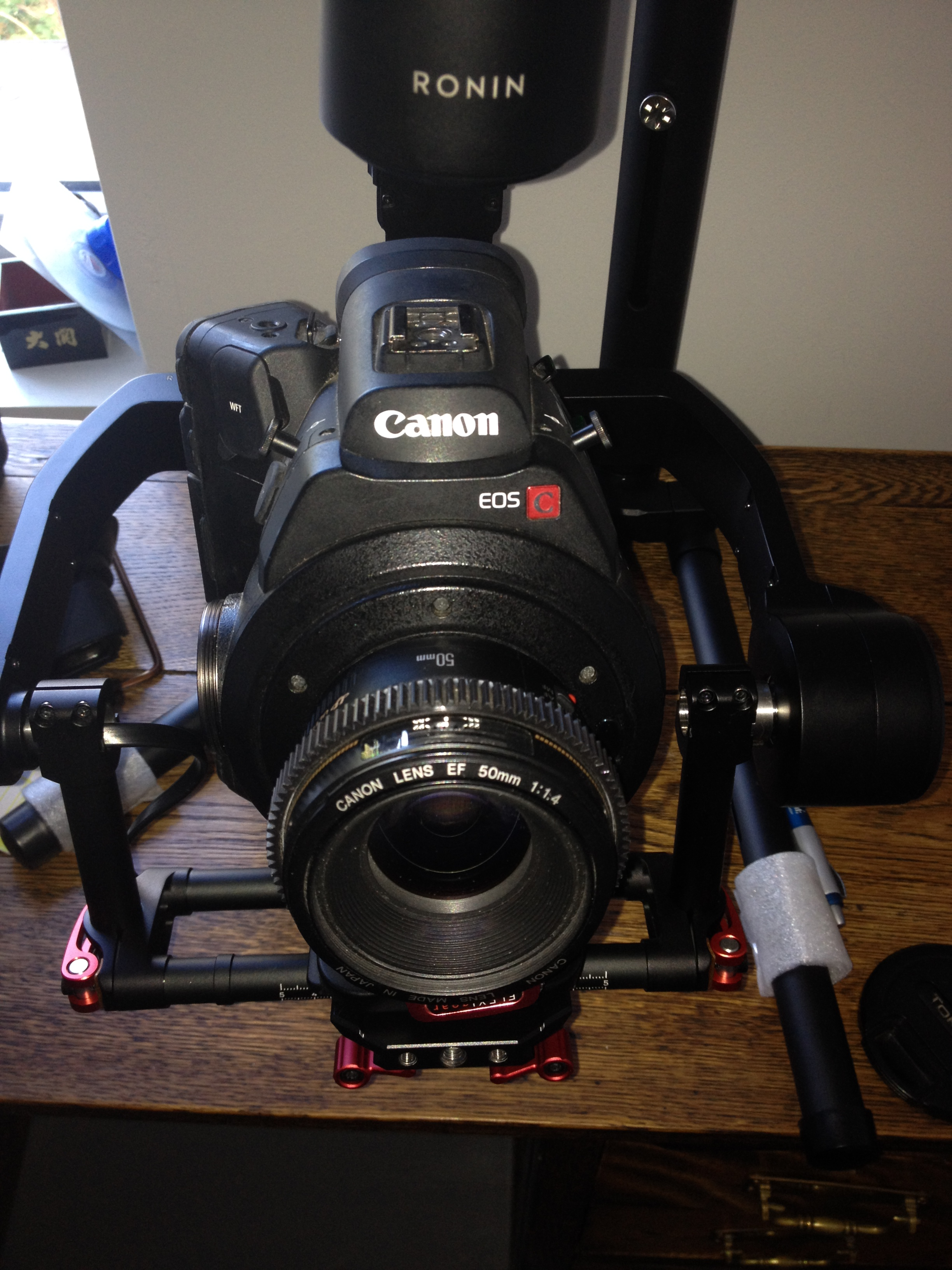 ronin m with C300 50mm