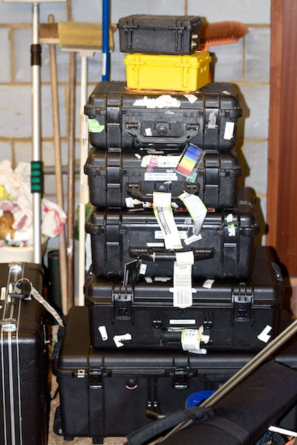 peli cases for tv gear
