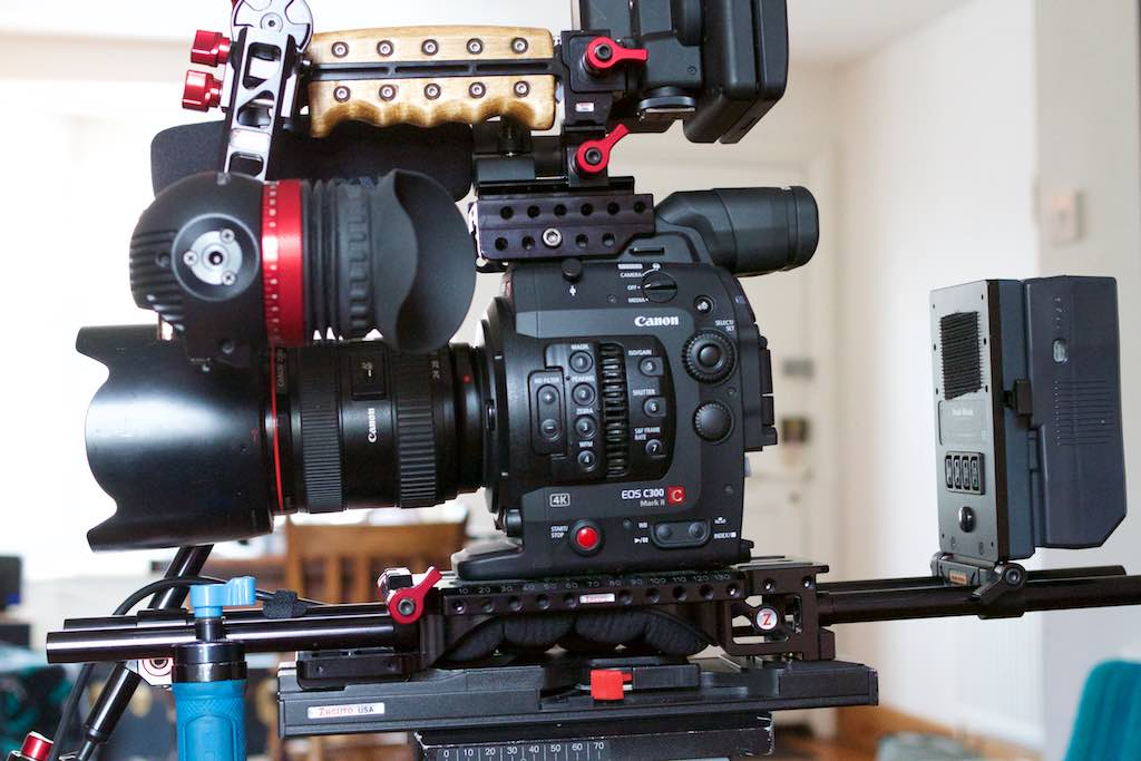 Zacuto Recoil Gratical Eye C300 mkii